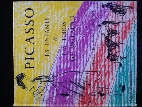 Picasso, les enfants les toros de vallauris