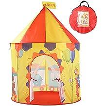 Georgie Porgy Casa de Juego Plegable para niños Portátil Tienda Castillo Jardín de Juguete al Aire