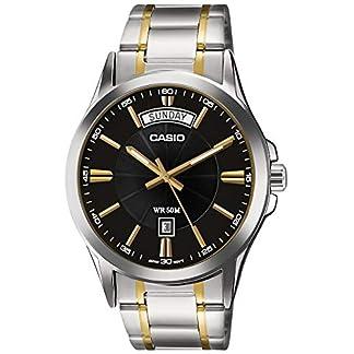 Casio Enticer Analog Black Dial Men's Watch – MTP-1381G-1AVDF (A842)