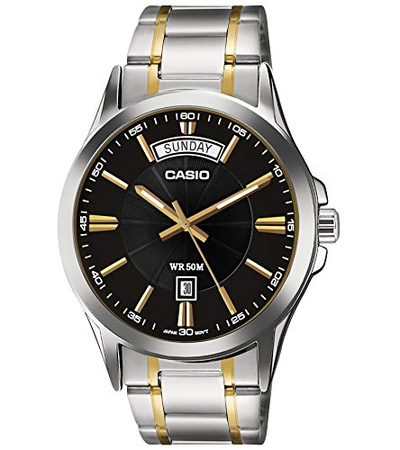 Casio Enticer Analog Black Dial Men's Watch - MTP-1381G-1AVDF (A842)