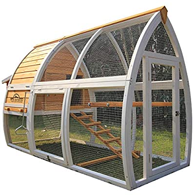Pets Imperial® Dorchester Chicken Coop Hen House Poultry Nest Box Ark Rabbit Hutch Run by Pets Imperial®
