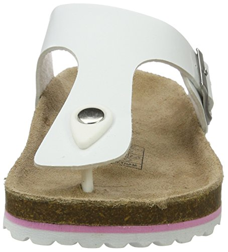 Softwaves 274 513, Mules Femme Weiß (WHITE)