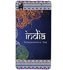 LENOVO A7000 TURBO INDIA Back Cover by PRINTSWAG