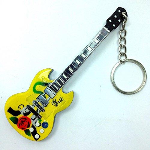 Llaveros de madera con forma de guitarra - Guns N' Roses - Slash