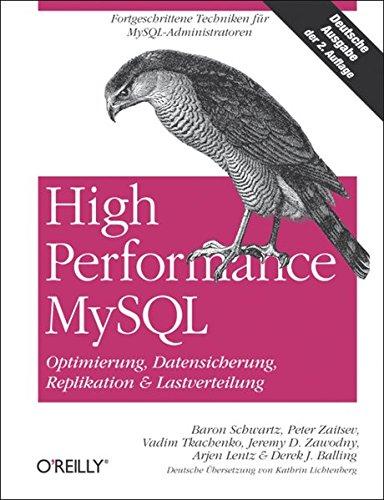 High Performance MySQL / Optimierung, Backups, Replikation und Lastverteilung: 2. Auflage