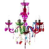 FISURA Isabella - Lámpara de techo, 5 brazos, multicolor