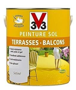 V33 - Peinture Sol Terrasse/Balcon Galet 0L5