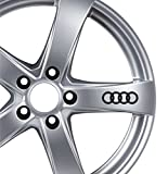 6x Audi Alufelgen Aufkleber TT A3A4A5A6S-Line Quattro Auto Tuning