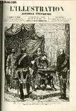 """L'ILLUSTRATION JOURNAL UNIVERSEL N° 1823 - histoire de la semaine - courrier de Paris - """"Bonne-Marie"""" nouvelle (suite) - les théatres - """"le bossu de Tymeur"""" nouvelle - petite monnaie de l'histoire : les diners honorifiques - les tablettes du sphinx ........."""