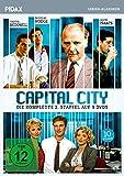 Capital City, Staffel 2/Weitere 10 Folgen der packenden Finanz-Serie im Stil von WALL STREET (Pidax Serien-Klassiker) [3 DVDs]