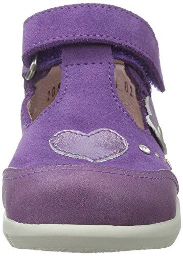 Däumling Josefine, Chaussures Marche Bébé Fille Violett (Fortuna glicine25)