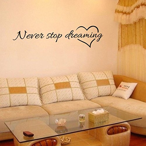 never-stop-dreaming-sitting-room-adornment-bedroom-one-wall-murals