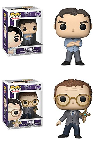 Funko POP Buffy The Vampire Slayer 20th Anniversary Xander Giles Vinyl Figure Set NEW