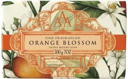 Aromas Artesanales De Antigua Floral Orange Blossom Triple Milled Soap 200g -