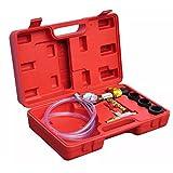 Entlüftungsbox Befüllung System Kühlkreislauf aus Metall und Gummi Manometer mit Gummischutz (Toleranz von +-2%)