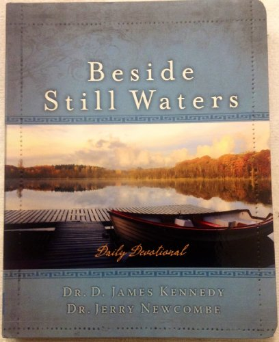 Beside Still Waters Daily Devotional Leather bound