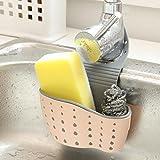 Xshuai 24,5 * 14,5 * 5,7 cm waschregal seifen Schwamm ablauf Rack Bad Halter küche lagerung saugnapf für seife, Schwamm, zahnbürste (B)