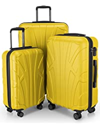 7e3bc3db2 Amazon.it: Giallo - Valigie / Valigie e set da viaggio: Valigeria