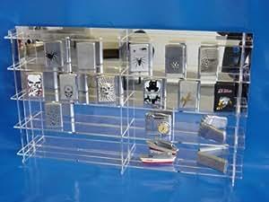 setzkasten speziell f r zippo feuerzeuge aus acrylglas. Black Bedroom Furniture Sets. Home Design Ideas