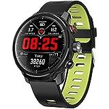 QSBY Natación Deportes Pulsera Inteligente presión Arterial Ritmo cardíaco sueño Monitor Fitness Tracker al Aire.