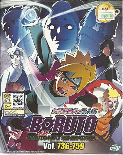 BORUTO : NARUTO NEXT GENERATIONS (BOX 26) - COMPLETE ANIME TV SERIES DVD BOX SET (736-759 EPISODES) -