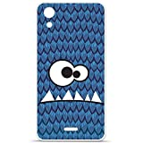 Housse Coque Etui Wiko Rainbow Up 4G silicone gel Protection arrière - Monster