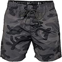 Crosshatch Men's Camoswim Shorts