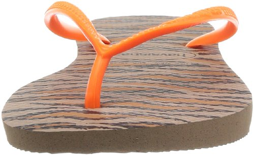 Havaianas Slim Animals Fluo, Infradito Donna Rose Gold