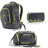 Satch Pack - 3 tlg. Set Schulrucksack - Phantom