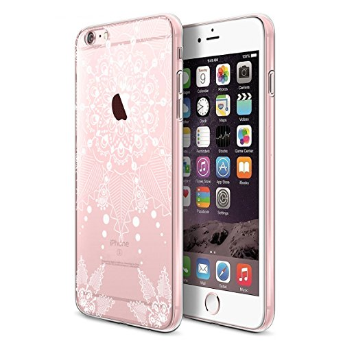 "iPhone 6s Hülle , iPhone 6 Hülle , iPhone 6 6s Silikon Hülle , ivencase Transparent Handyhülle Schutzhülle TPU Clear Case Backcover Bumper Slimcase Etui Tasche für Apple iPhone 6 6s 4.7"" aj50"