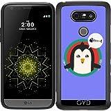 SilikonHülle für LG G5 - Pinguin Mit Besteck Und by ilovecotton