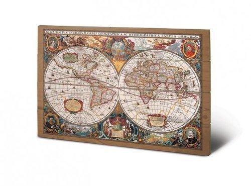 Th Century World Map X Cms X Inches Amazonco - 17th century world map