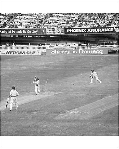 Photographic Print of Cricket - MCC v Australia - Lord