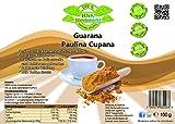 Puro guaraná Paulina cupana cafeína polvo Pur | Energy Drink polvo | 100% Natural | sin Química aditivos, 1er Pack (100g)