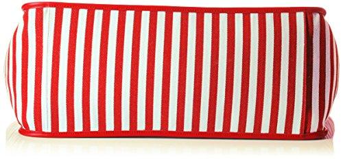 Sansibar Damen Umhängetasche, 21 x 32 x 65 cm Rot (Red)