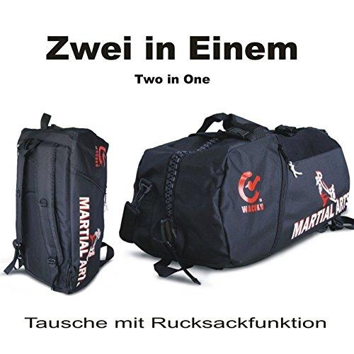 BAY® Sporttasche, Trainingstasche, Kickboxtasche Bag, Rucksack  Abbildung 2