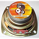 SOUMIK ELECTRICALS 3 inch Satellite Speaker 5 Watt 4 ohm, 3 inch Woofer/ Speaker, Use in Home Theater, Clear Sound (Pack of 4)