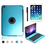 Best Boriyuan Cases For Ipad Minis - Boriyuan Keyboard Case for Ipad Mini 4(Blue) Review