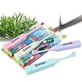 Hemore Ultrasonic Cepillo de dientes eléctrico suave cepillo automático completo niños cepillo de dientes Herramientas de maquillaje accesorios