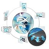 atFolix Schutzfolie für BenQ T55 Folie - 3 x FX-Curved-Clear Flexible Displayschutzfolie für gewölbte Displays