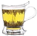 GROSCHE Aberdeen Teebereiter, Tee-Infuser, Teekanne - BPA-frei & aus lebensmittelechtem Tritan (1000 ml)