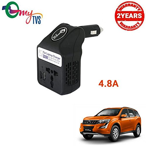 myTVS TLC-28 Black Car Laptop and Mobile Charger-Mahindra XUV