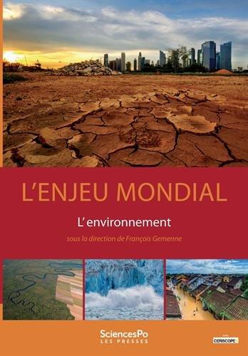 L'enjeu mondial : L'environnement