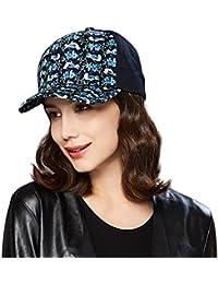 89fb6df0f69 Kenmont Women s Cotton Baseball Cap 5 Panel Floral Pattern Outdoor Sports  Hat Visor Sun Cap