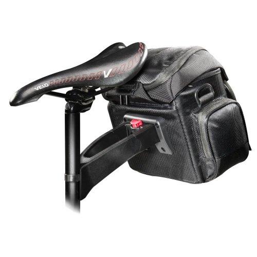 Mantona Premium Biker Fototaschen-Set (Fototasche inkl. Satteladapter und Lenkeradapter)