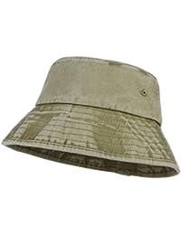 6cfdc0439f0 Lukis Unisex Denim Bucket Hat Outdoor Travel Foldable Cotton Denim Sun  Protection Fisherman Hat Cap