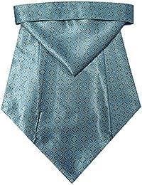 Riyasat - Self Design Micro Fiber Men,s Cravat with Pocket Square (C_0083)