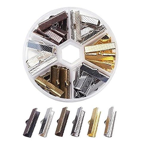 Embouts en 6couleurs dans une boîte en plastique 25mm bastel Express