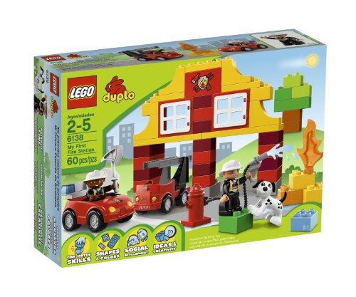 Lego Duplo Mon première caserne de pompiers - 60pcs.