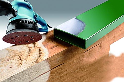 KWB Quick-Stick Schleifscheiben, Holz und Metall, selbsthaftend, Durchmesser 125 mm, gelocht, 5419-18